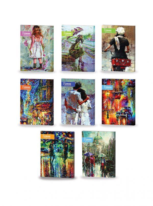 دفتر طرح هنری دانشجویی (100 برگ)