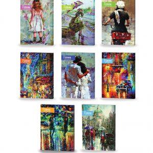 فروش عمده دفتر تحریر طرح هنری دانشجویی (100 برگ)
