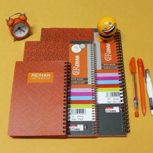 ست دفتر مشق نارنجی