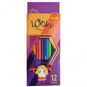 مداد رنگی 12 رنگ لوکی (Looky)