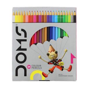 مداد رنگی 24 رنگ دامس (Doms)