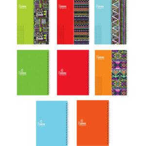 پخش عمده دفتر مشق مجلد بازی رنگ – فنرتک (80 برگ)